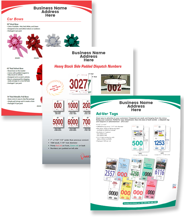 Sample Editable Sales Sheets